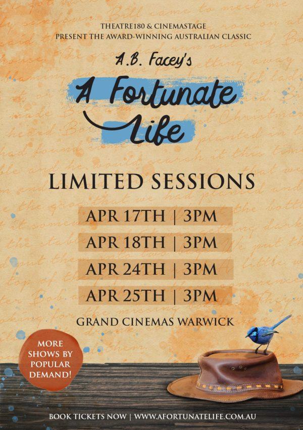 Dates & Times FB Poster - Warwick